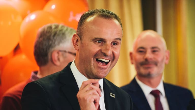 Andrew Barr will continue to lead the ACT, with a combined majority of 14 with the two elected Greens.