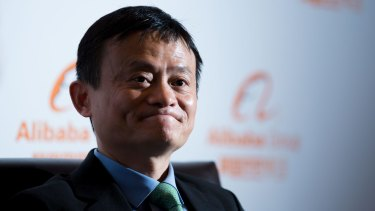 Jack Ma, founder and Executive Chairman of Alibaba Group launches the group's Australian headquarters.