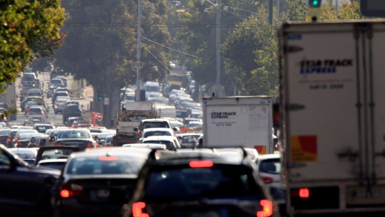 Melbourne has the second-worst traffic in the country.