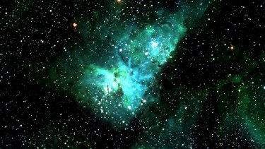 The Eta Carinae Nebula, Dr Wolf's favourite item in the southern sky. It includes a star that was one of the brightest objects in our sky 200 years ago when it dramatically detonated.