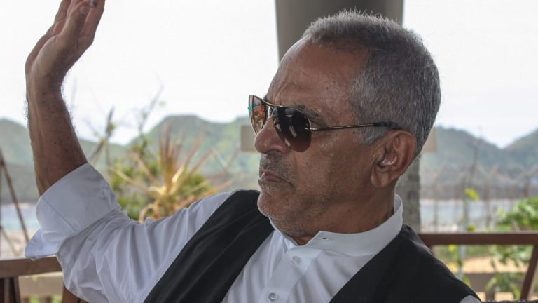 Former president of East Timor Jose Ramos Horta