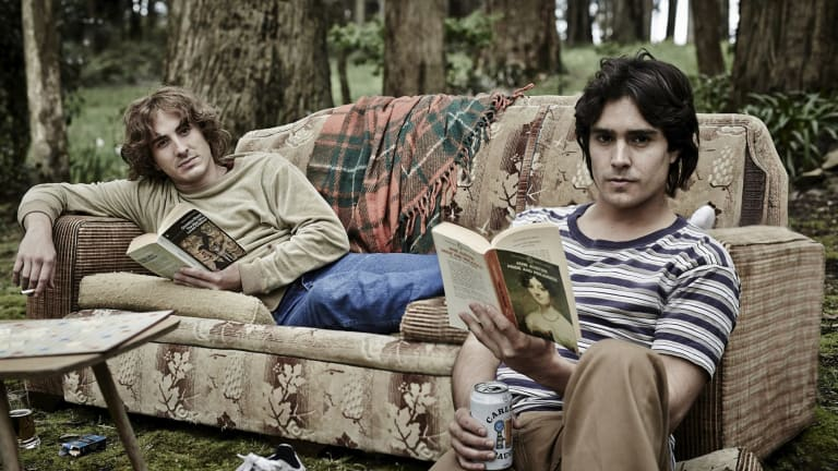 Ryan Corr (left) and Craig Stott in Neil Armfield's moving new film about gay love.