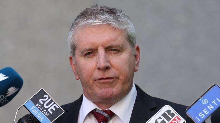 Opposition spokesman for Employment Brendan O'Connor.