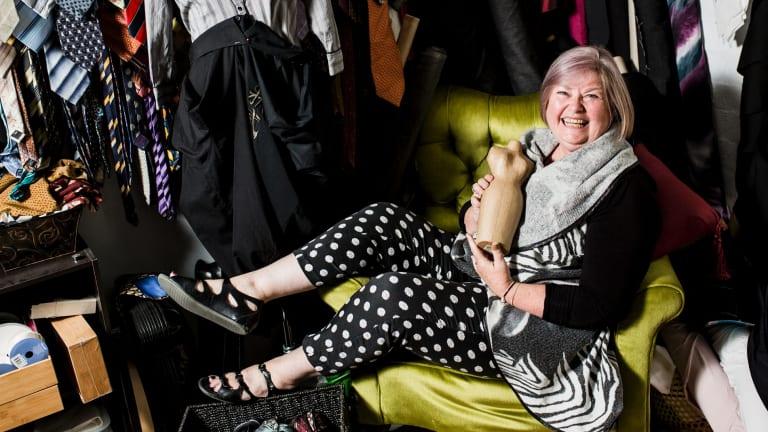 Canberra designer Bronwynne Jones is behind new label Thunder Thighs.