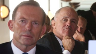 Communications Minister Malcolm Turnbull has contradicted Prime Minister Tony Abbott's position on Australia's superannuation system.