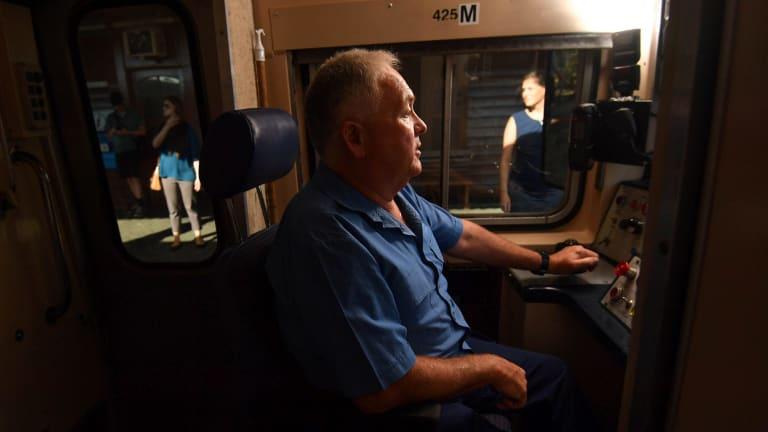 Meet stephen king the man who loves driving your train to work m4hsunfo