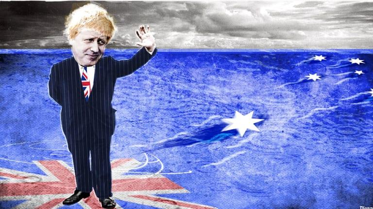 Boris Johnson misunderstood why Australia has had 26 years of uninterrupted growth.