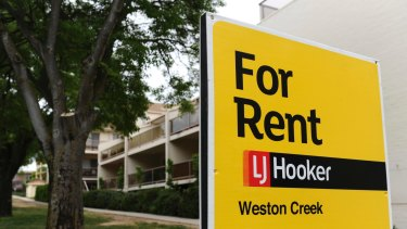 Canberra's high median incomes distort the renting picture in the national capital.