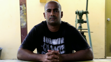 Myuran Sukumaran in a scene from Guilty.