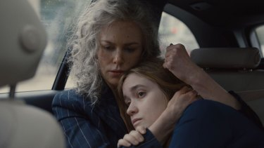 Nicole Kidman (left), seen with Alice Englert, personally asked director Jane Campion to be part of season two of Top of the Lake.