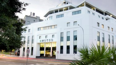 WOTSO offices at 55 Pyrmont Bridge Road, formerly the Fox Sports building.