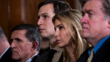 Trump's top aides Jared Kushner and Steve Bannon have clashed have clashed repeatedly in recent weeks.