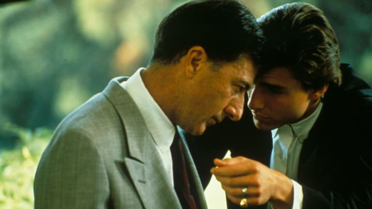 Rain man pic by stephen vaughan Dustin Hoffman and Tom Cruise