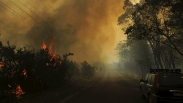 A warming climate is likely to expand the bush fire season, researchers say.