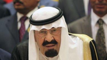 King Abdullah had been hospitalised in the last week