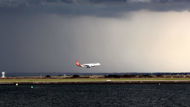 Pilots have a chance to show their expertise during bad weather landings.