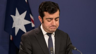 Sam Dastyari announces his resignation from Parliament.