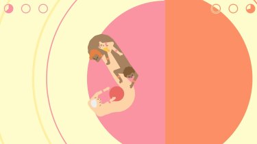 <em>Push Me Pull You</em> is an unsettling but hilarious mix of sumo and human centipedes.