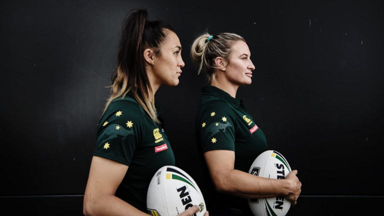 Jillaroos players Corban McGregor and Ruan Sims are keenly anticipating the inaugural women's league in 2018.