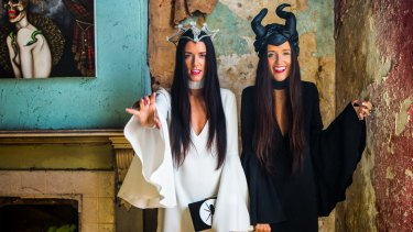 Bloggers Stef and Jess Dadon from How Two Live stand out in a world of beige.