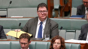 Coalition MP George Christensen.