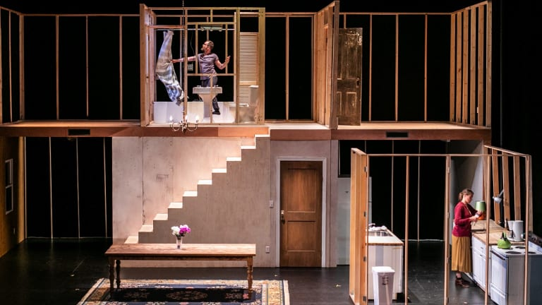 Geoff Sobelle's dialogue-free HOME is a kid's show for grown ups.