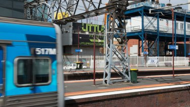 South Yarra Station, which could be bypassed by the new Metro rail tunnel.