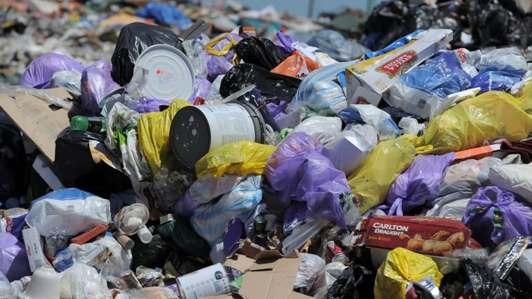 The EPA recorded 37,000 tonnes of waste was transported interstate from NSW in December last year.