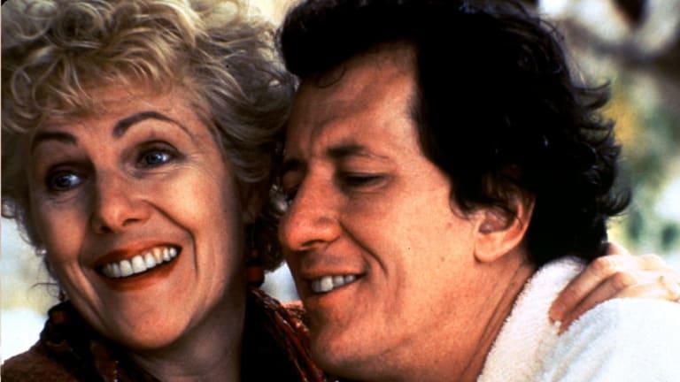Lynn Redgrave with Geoffrey Rush in <i>Shine</i>.