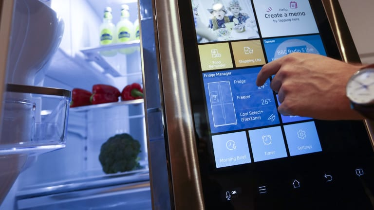 Products like smart fridges are part of the Internet of Things - but what else will be thought up in the future?