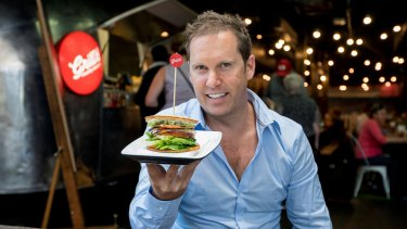 Grill'd founder Simon Crowe.