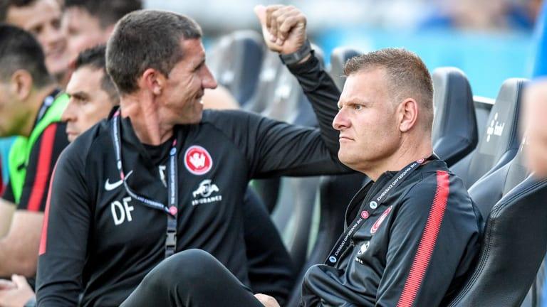 Hot seat: Josep Gombau is feeling the heat at Western Sydney Wanderers.