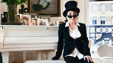 Yoko Ono: Harsh and strangely alluring.