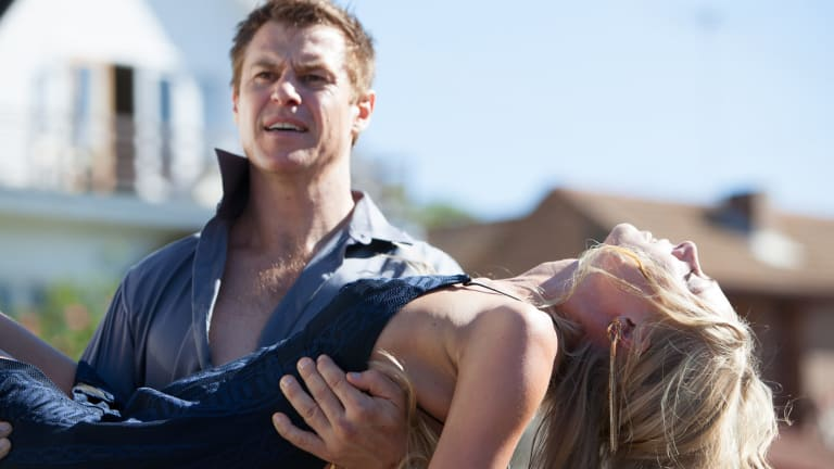 Rodger Corser as Dr Hugh in <i>Doctor Doctor</i>.