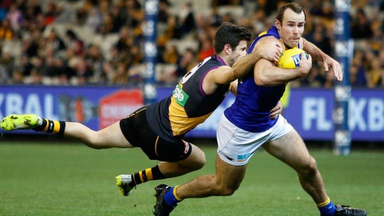Shannon Hurn isn't concerned that John Worsfold can reveal any Eagles' secrets.