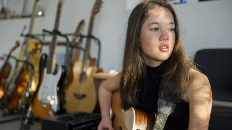 Fourteen-year-old singer Lucy Sugerman ... two big wins and a concert.