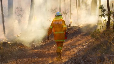 Fuel moisture levels are remarkably low, worrying fire experts.