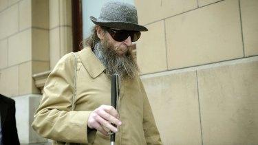 A spell in prison: Robin Fletcher.