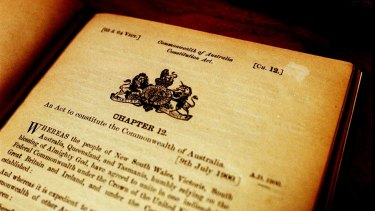 Australia's 116-year-old Constitution has not had a change in 40 years.