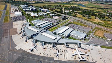 The airport would initially be the size of Canberra Airport.