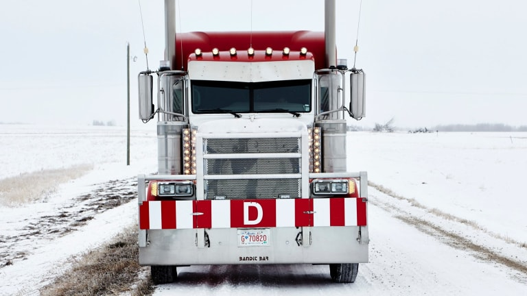 Loaded: Truckers strive for profits.