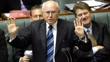 John Howard, along with Peter Costello, called on Tony Abbott to sack Joe Hockey.