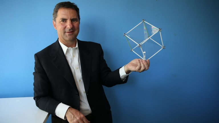 CSIRO boss Larry Marshall in September.