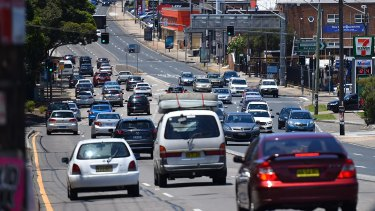 The state budget included $123 million to revitalise neighbourhoods along Parramatta Road, but said nothing about extensive plans for light rail drawn up inside Transport for NSW.