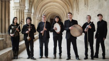 French medieval world folk ensemble La Camera delle Lacrime perform with the Australian Brandenburg Orchestra.
