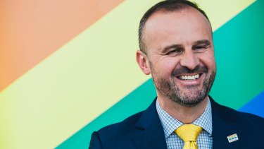 ACT Chief Minister Andrew Barr offer to be a proxy vote for people in the upcoming postal survey on same-sex marriage.