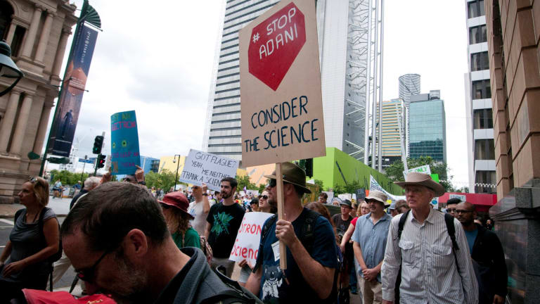 Science supporters fought back against the threat of alternative facts and belief-driven voices.