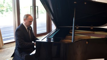 """We played him like a piano"": Vladimir Putin."