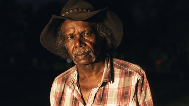 Ted Carlton, an Aboriginal elder of Kununurra.