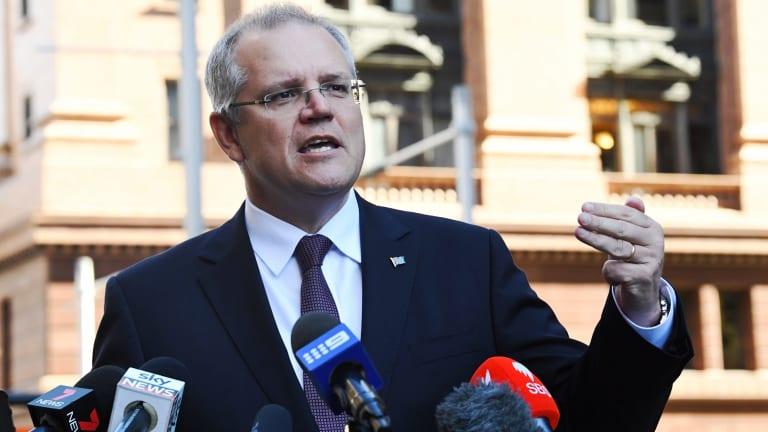 Treasurer Scott Morrison launched the PaTH scheme